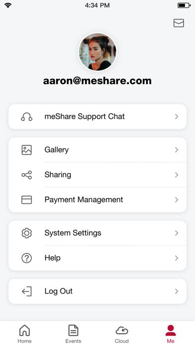 meShare Screenshot
