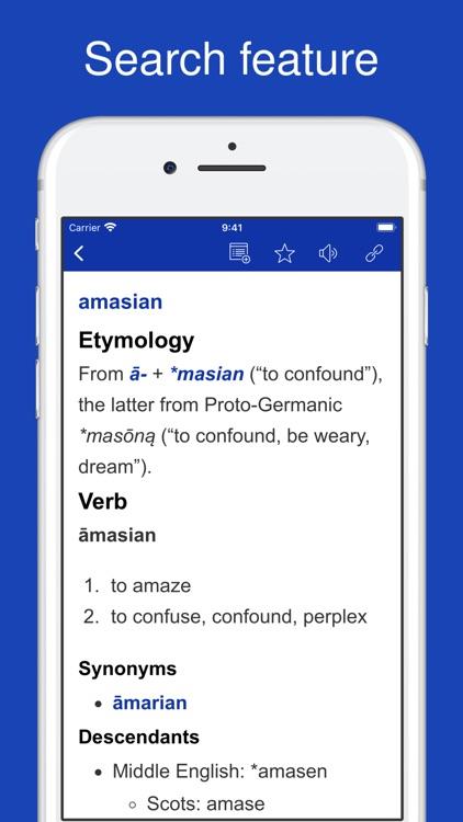 Old English Dictionary. screenshot-4