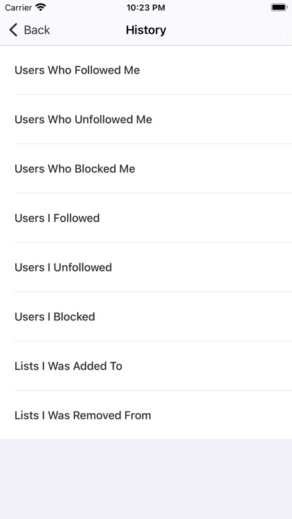 Find Unfollowers For Twitter screenshot-9