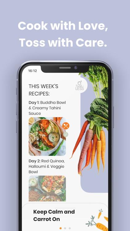 Toss-Less: Food Recipes