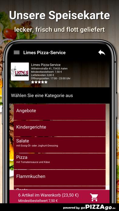 Limes Pizza-Service Aalen screenshot 4