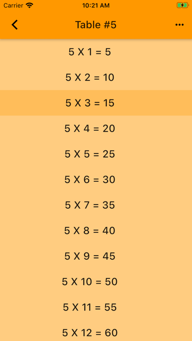 Audible Math Tables Pro screenshot 7