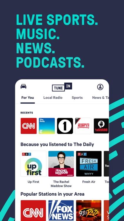 TuneIn Pro - Radio & Sports screenshot-0