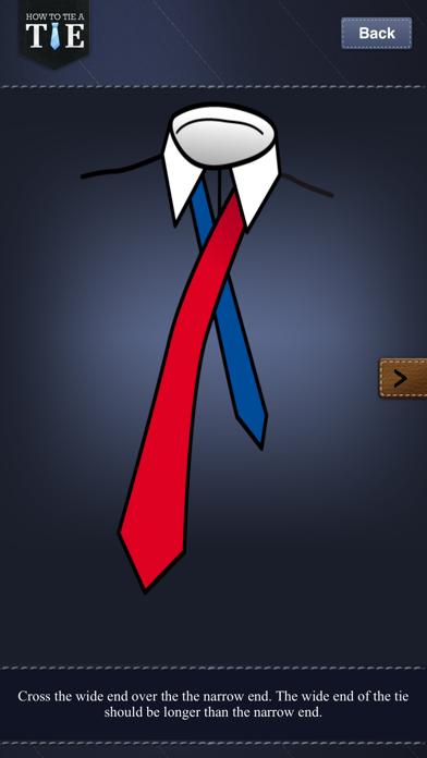 How to Tie a Tie !Screenshot of 4
