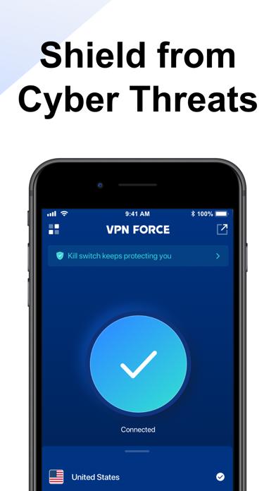 VPN FORCE - VPN Proxy Master Screenshot