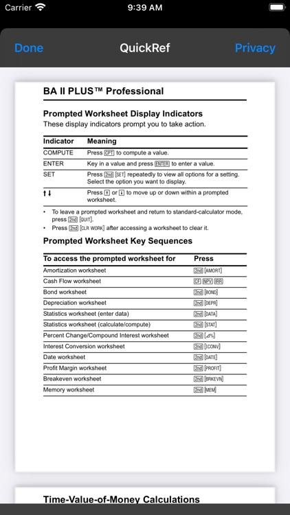BA II Plus™ Financial Calc screenshot-5