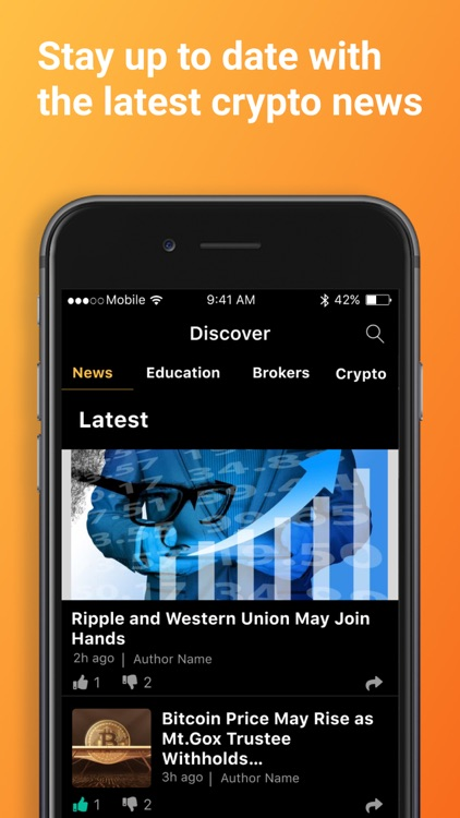 Bitcoin & Crypto Tracker screenshot-5