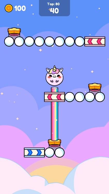 Monkey Roll: Kawaii Climb screenshot-4