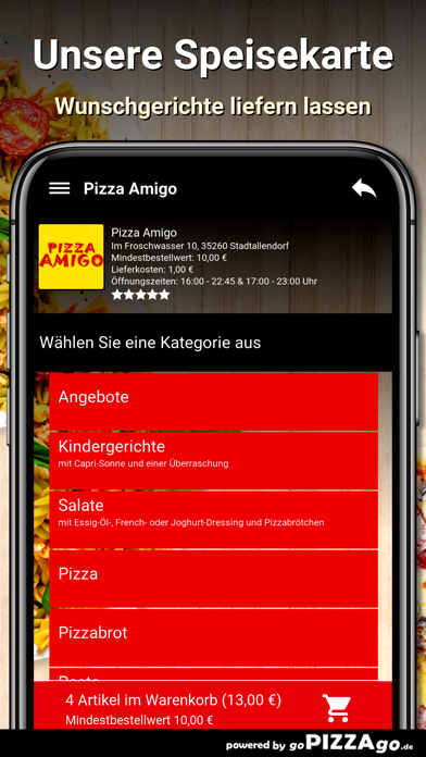 Pizza Amigo Stadtallendorf screenshot 6