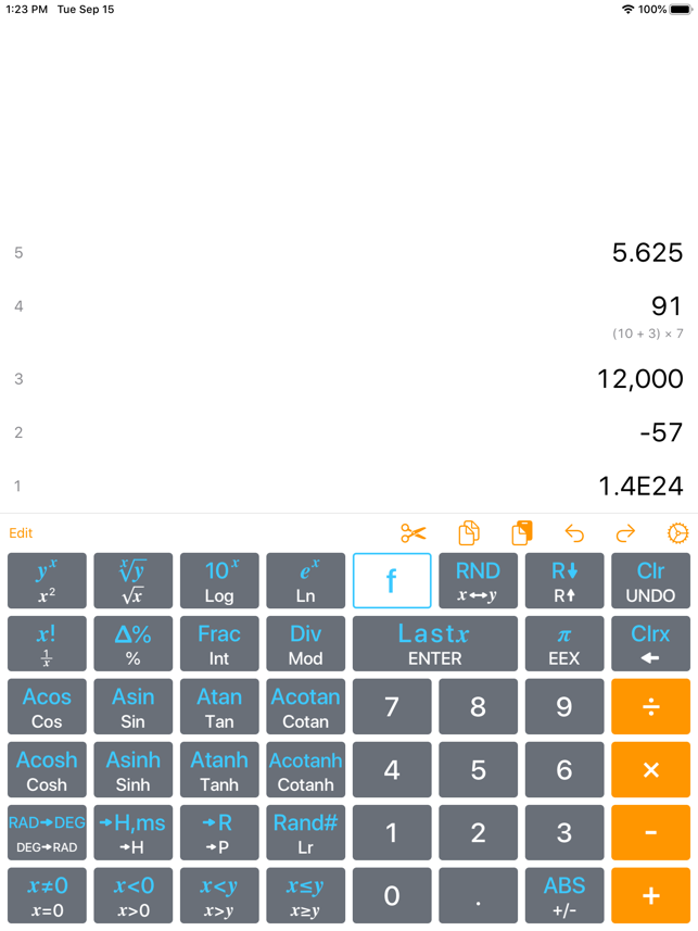 ‎Calculator RPN Screenshot