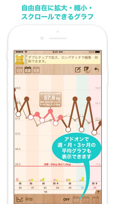 シンプル・ダイエット 〜 記録するだけ!かんたん体重管理 〜 ScreenShot1