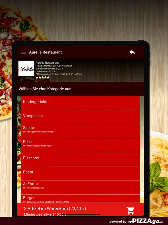 Aurelia Restaurant Stuttgart screenshot 7