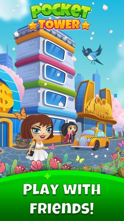Pocket Tower -Tiny Metropolis screenshot-4