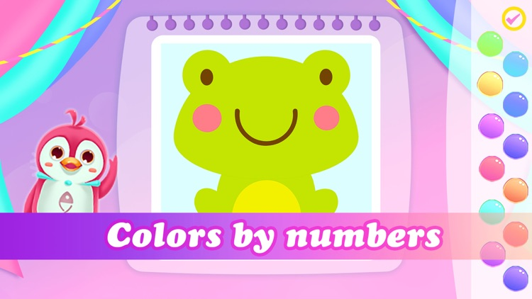 Princess color book for Kids screenshot-4