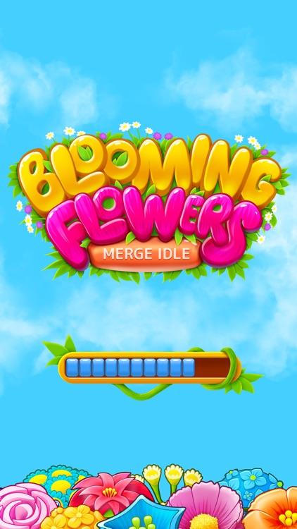 Blooming Flowers: Merge Game screenshot-4