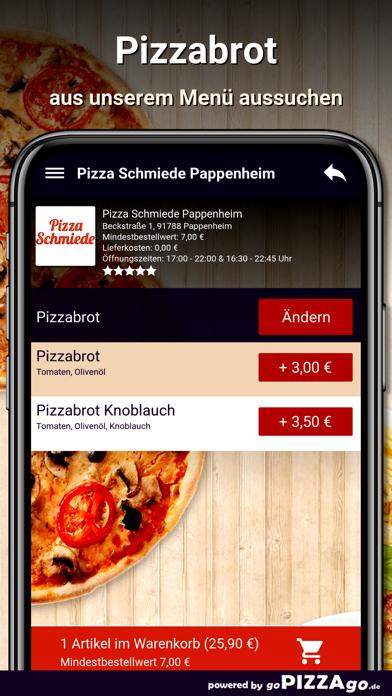 Pizza Schmiede Pappenheim screenshot 5