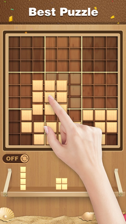 Wood Block Sudoku Puzzle screenshot-2