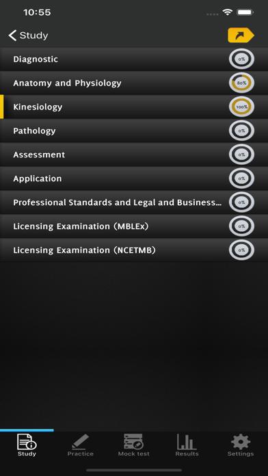 Massage Therapy Exams screenshot 3