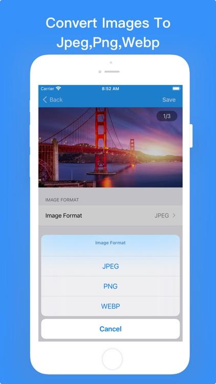 Photo Compress - Resize Image screenshot-3