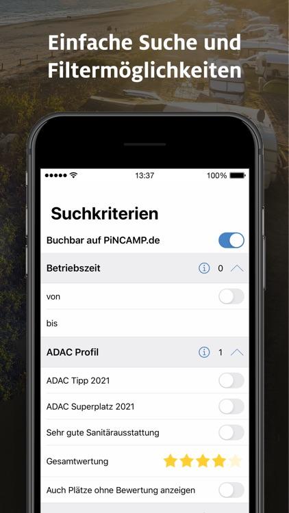 ADAC Camping / Stellplatz 2021 screenshot-4