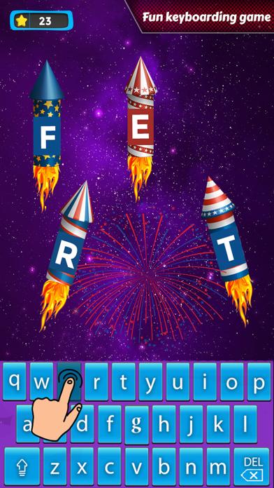 Space Typing:Speed Rocket screenshot 3