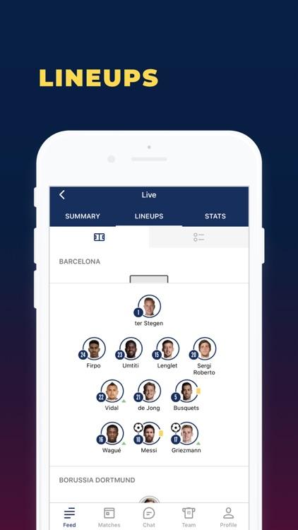 Barcelona Live: not official screenshot-5