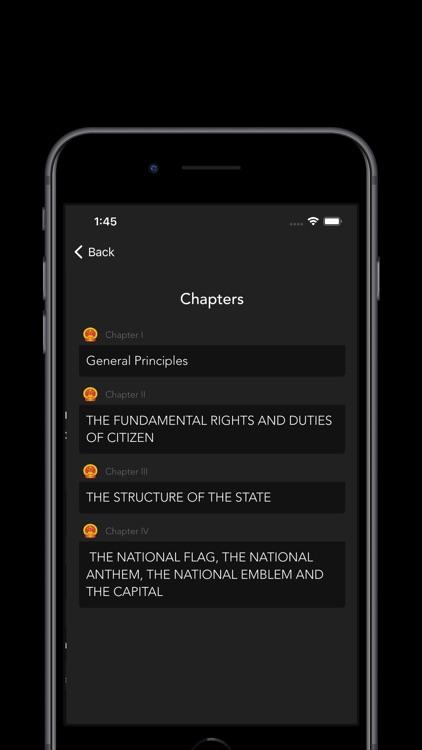 Constitution of China screenshot-4