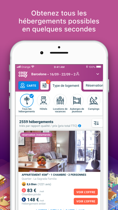 messages.download cozycozy - Locations & Hôtels software