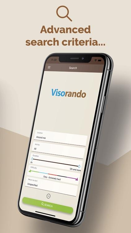 Visorando - Route ideas screenshot-5
