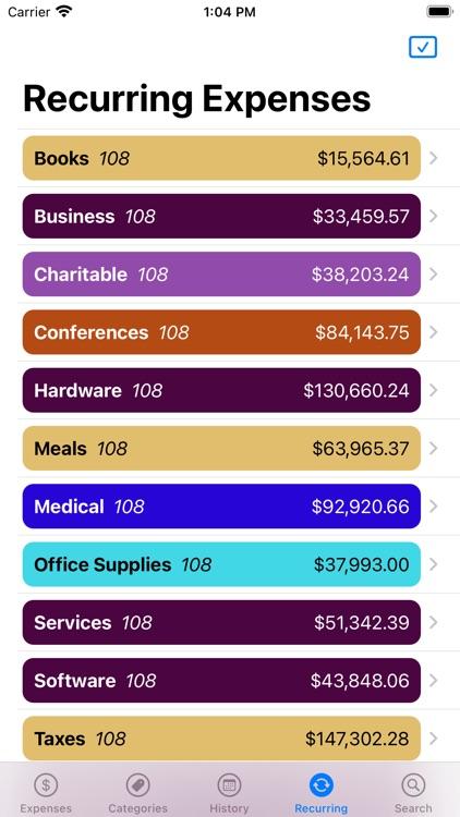 Pocket Expenses screenshot-3