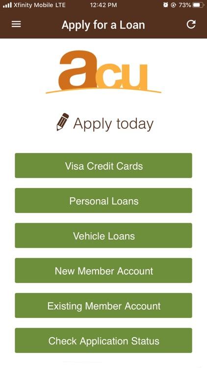 ACU Mobile Banking screenshot-4