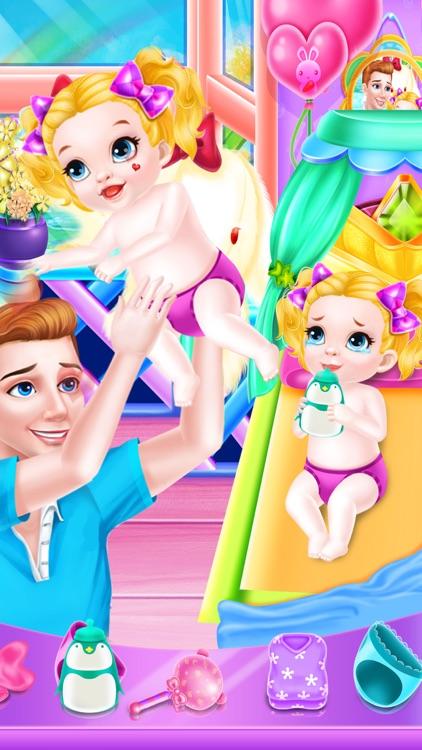Father Care Newborn Baby