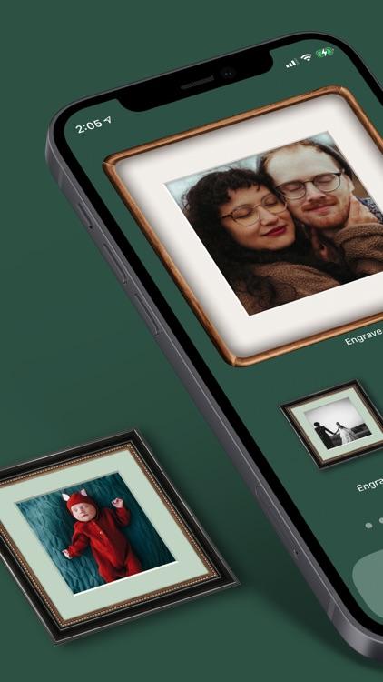 Engrave -My Photo Frame Widget screenshot-0