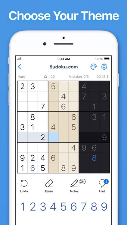 Sudoku.com - Sudoku Puzzle screenshot-5