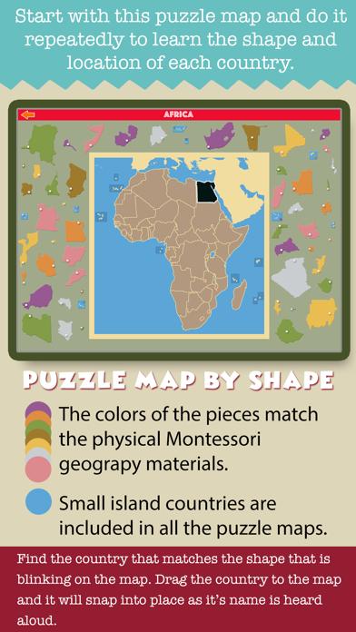 Montessori Geography School Ed screenshot 5