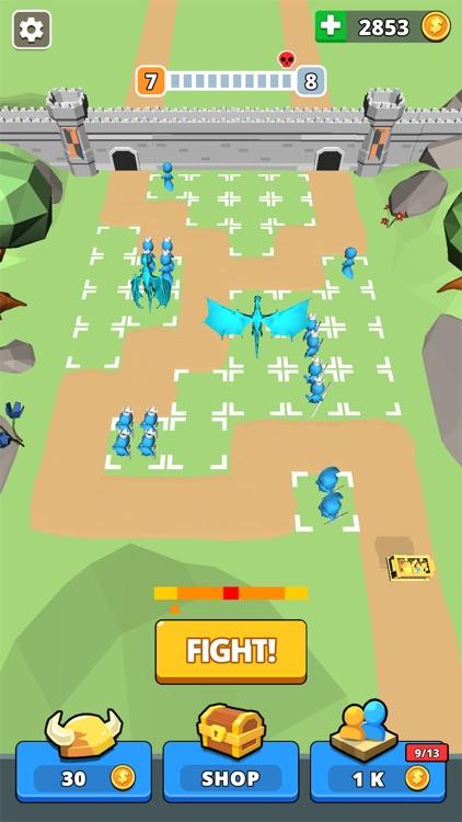 Tiny Battle - Merge Troops!