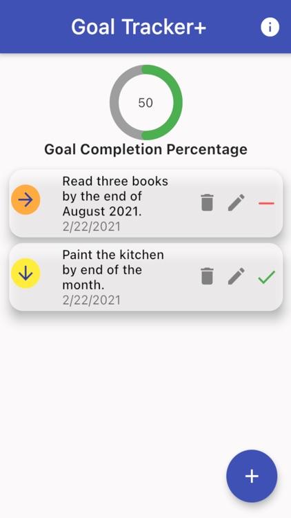 Goal Tracker+