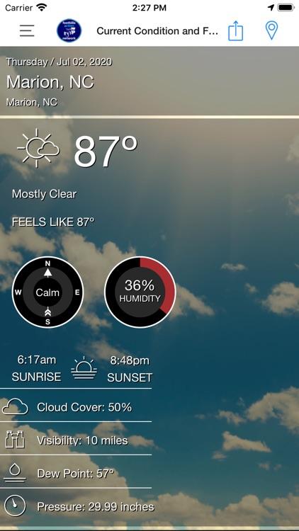 Foothills Weather screenshot-3