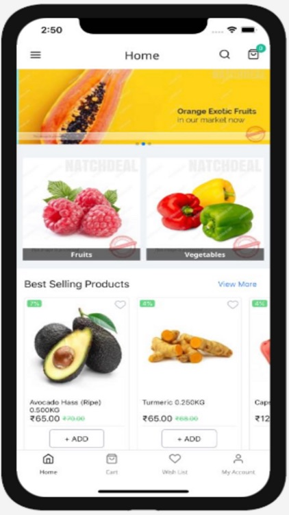 Natchdeal online shopping app screenshot-3
