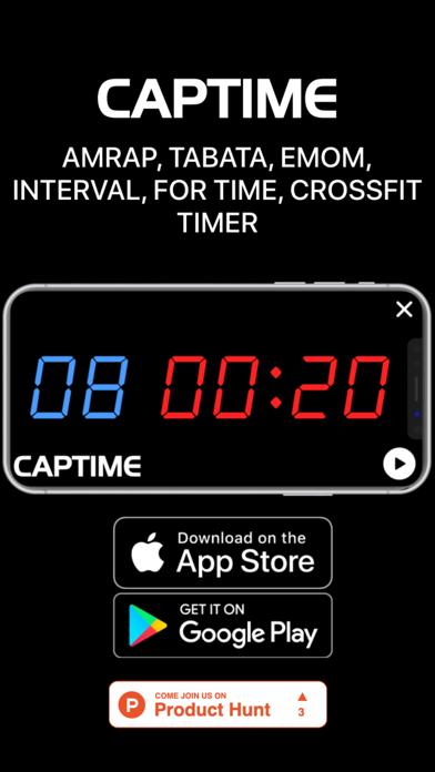 Screenshot #3 pour Captime - Crossfit Timer