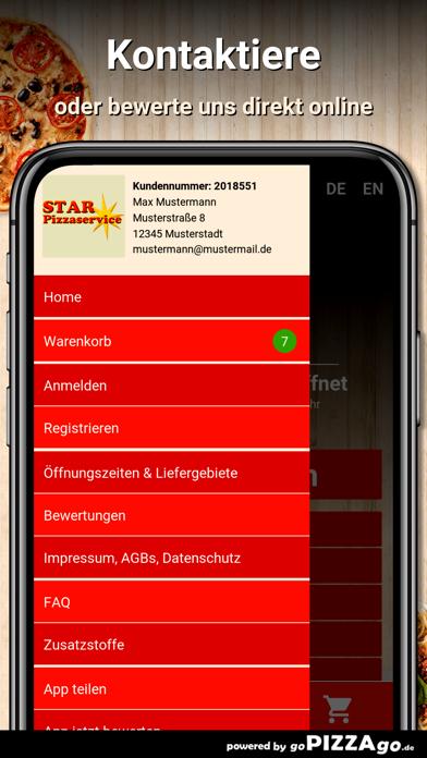 Star Pizzaservice Chemnitz screenshot 3