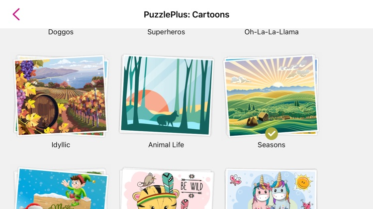1000 Jigsaw Puzzles Cartoons screenshot-9