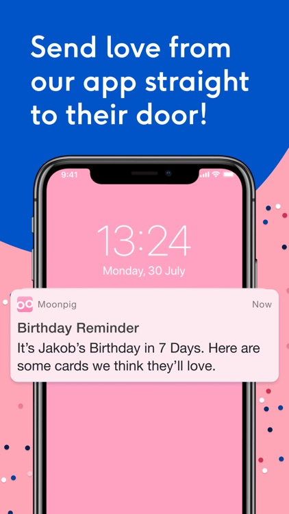 Moonpig: Birthday Card Maker screenshot-0