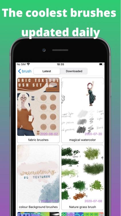 BrushesMasterProcreate screenshot-5
