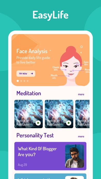 EasyLife-AI Face&Meditation screenshot 1