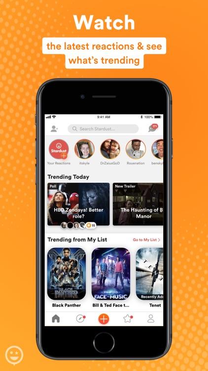 Stardust-Movie & TV Social App