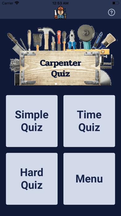 Carpenter Quiz screenshot 1