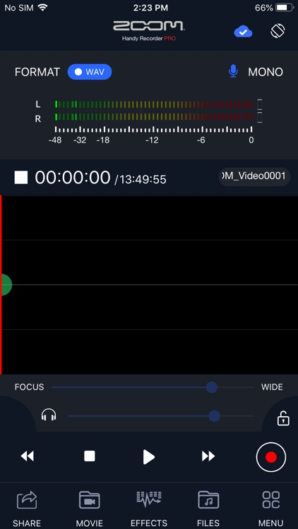 Handy Recorder PRO screenshot-0