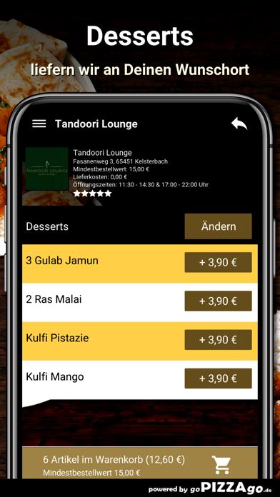 Tandoori Lounge Kelsterbach screenshot 6