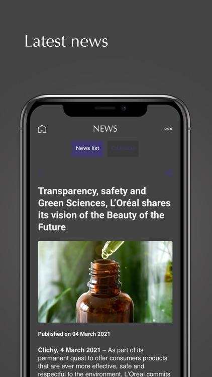L'Oréal Investors screenshot-4